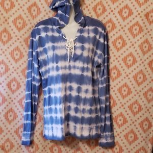 NWT Chaps hooded top